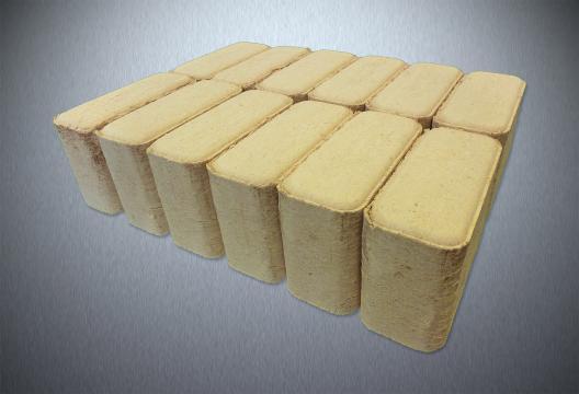 Dřevěné brikety RUF HARD OPTIMAL, bukové, 10 kg