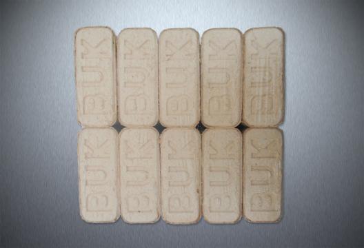 Dřevěné brikety RUF HARD PREMIUM, bukové, 10 kg