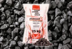 Balené černé uhlí pro klasická kamna prémium, 25 kg