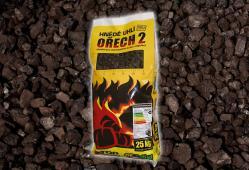 Bílinské uhlí - Ořech 2, pytlované, 25 kg